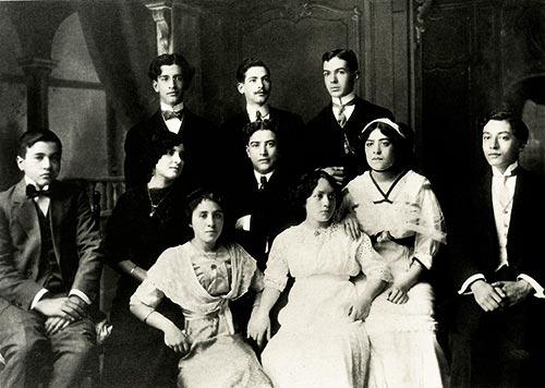 Students of Manuel M. Ponce